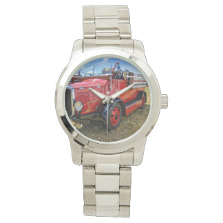 Steam Traction Engine Wristwatch