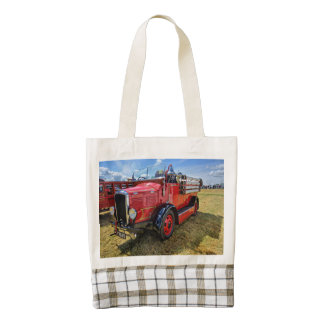 Steam Traction Engine Zazzle HEART Tote Bag