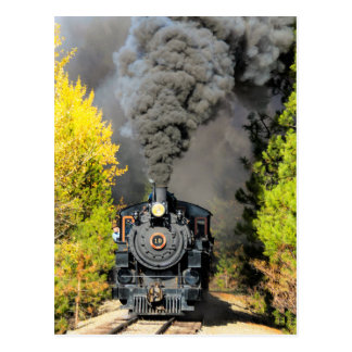 Steam Train 19 Postcard
