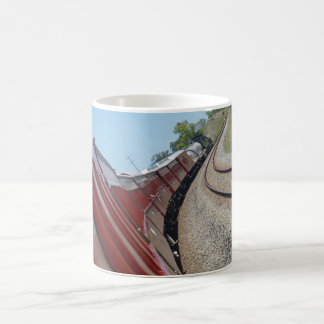 STEAM TRAIN AND CARRIAGES QUEENSLAND AUSTRALIA COFFEE MUG