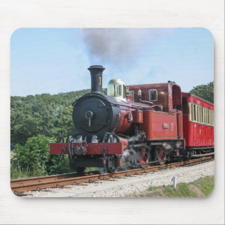 Steam train at Castletown Isle of Man Mouse Pad