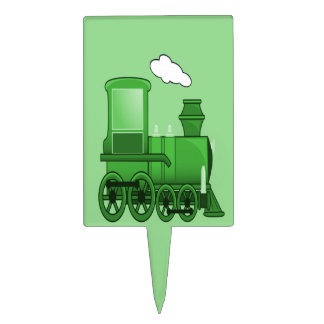 Steam Train Cake Topper