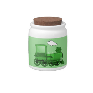 Steam Train Candy Dishes