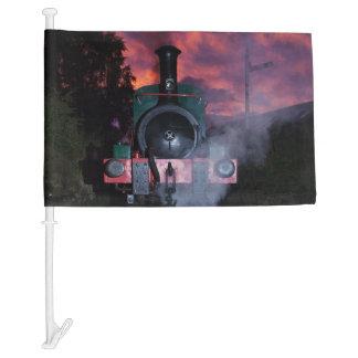 Steam Train Car Flag