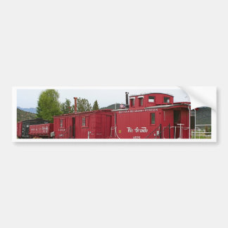 Steam train carriage accommodation, Arizona Bumper Sticker