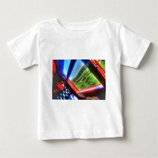 STEAM TRAIN CARRIAGE & SUGAR CANE FIELDS AUSTRALIA BABY T-Shirt