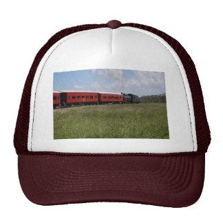 STEAM TRAIN &CARRIAGES RURAL AUSTRALIA TRUCKER HAT