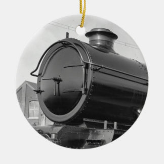 Steam Train Ceramic Ornament