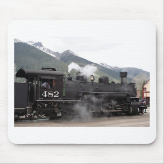 Steam train, Colorado, USA 2 Mouse Pad