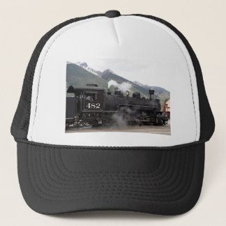 Steam train, Colorado, USA 2 Trucker Hat