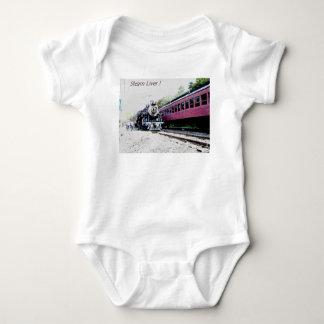 Steam Train Digital Rendering, BM&R #425 Baby Bodysuit