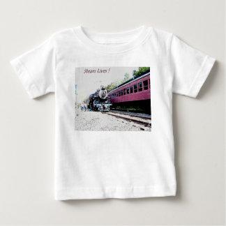 Steam Train Digital Rendering, BM&R #425 Baby T-Shirt