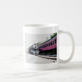 Steam Train Digital Rendering, BM&R #425 Coffee Mug