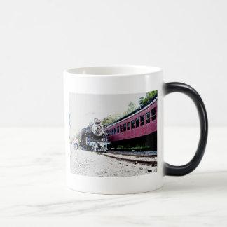 Steam Train Digital Rendering, BM&R #425 Magic Mug