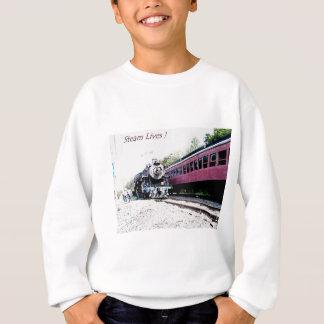 Steam Train Digital Rendering, BM&R #425 Sweatshirt