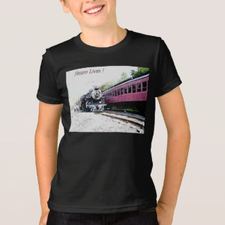 Steam Train Digital Rendering, BM&R #425 T-Shirt