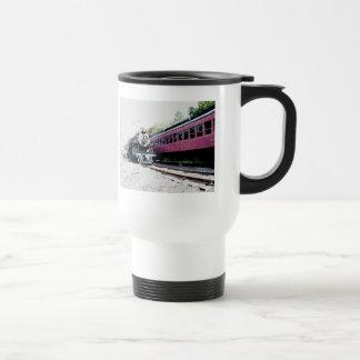 Steam Train Digital Rendering, BM&R #425 Travel Mug