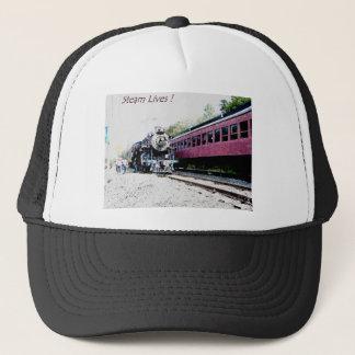 Steam Train Digital Rendering, BM&R #425 Trucker Hat