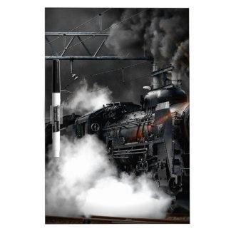 Steam Train Dry Erase Board