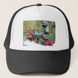 Steam train engine hat