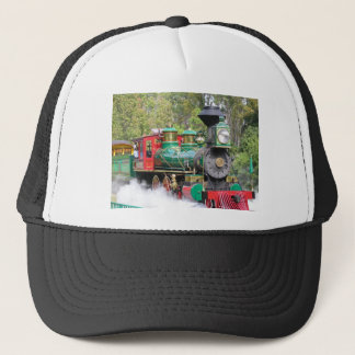 Steam train engine hat