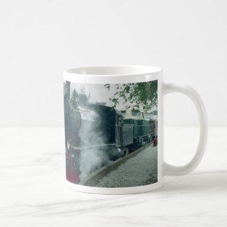 Steam train excursion coffee mugs
