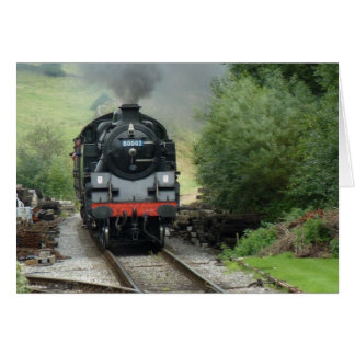 Steam Train Greeting / Note Card