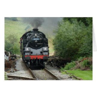 Steam Train Greeting / Note Card