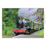 Steam Train Greetings Card