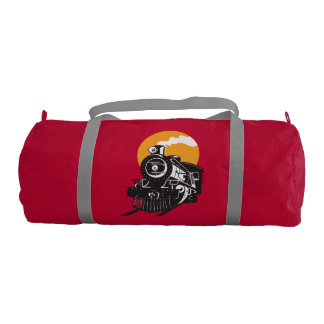 Steam Train Gym Duffel Bag