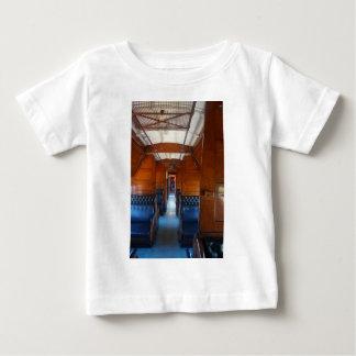 STEAM TRAIN INTERIOR RURAL QUEENSLAND AUSTRALIA BABY T-Shirt