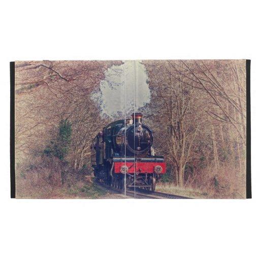 Steam Train iPad Folio Cover