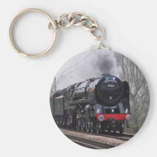 Steam Train Keychain