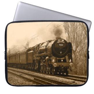 Steam train laptop sleeve