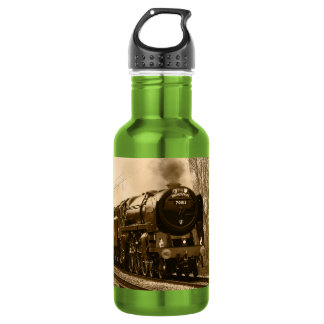 Steam Train Liberty 18oz Water Bottle