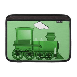 Steam Train Loco Green Art MacBook Air Sleeve