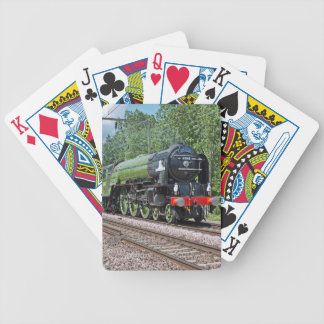 Steam train Loco Playing cards