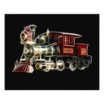 Steam Train Locomotive Engine Personalized Flyer