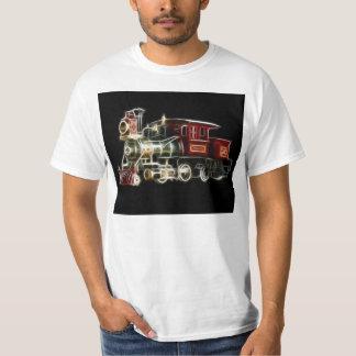 Steam Train Locomotive Engine T Shirt