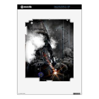 Steam Train Locomotive iPad 2 Decal