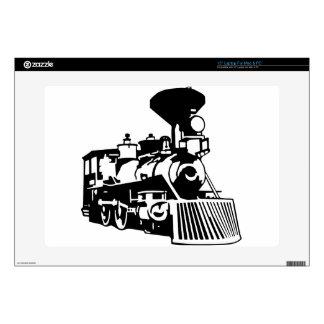 steam train locomotive laptop decals