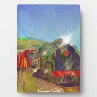 Steam Train Locomotive Railway Enthusiast Art Display Plaques