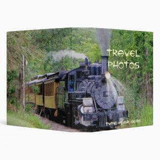 Steam Train Locomotive Travel Photo Album (Binder) Binder
