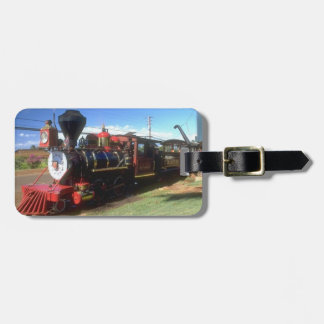Steam Train Luggage Tag. Bag Tag