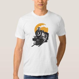 Steam Train Mens T-Shirt