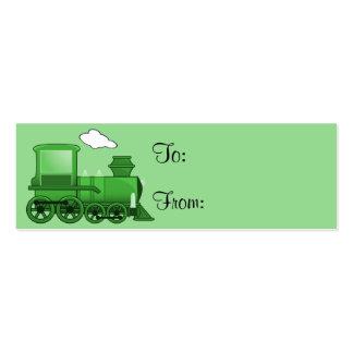 Steam Train Mini Business Card
