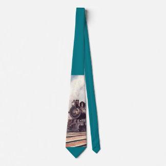Steam Train Neck Tie
