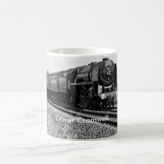 "Steam Train ""Oliver Cromwell"" Mug"