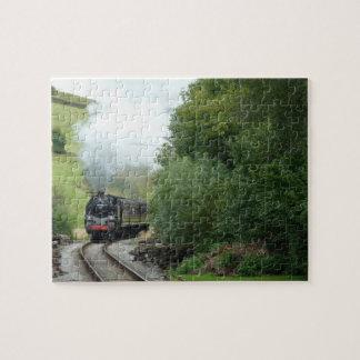 Steam Train Photo Puzzle
