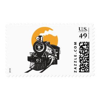 Steam Train Postage